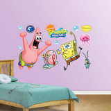 SpongeBob and Patrick Wall Decal