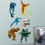 Classic Fantastic Four Wall Sticker