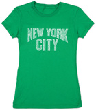Juniors: New York City T-Shirt