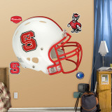 North Carolina State Helmet Wall Decal