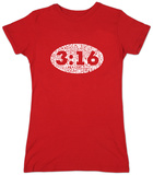 Juniors: John 3:16 T-Shirt