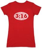 Juniors: John 3:16 T-Shirt