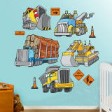 Trucks Wall Decal