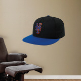 New York Mets Road New Era Cap Wall Decal