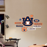 Auburn - Fathead Junior Logosheet Wall Decal