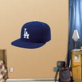 LA Dodgers New Era Cap Wall Decal