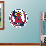 California Angels Throwback Logo Wall Decal