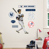Nick Swisher - Fathead Junior Wall Decal