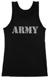 Juniors: Tank Top - Lyrics To The Army Song T-Shirt