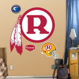 Washington Redskins Classic Logo Wall Decal
