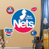 New Jersey Nets Classic Logo Wall Decal