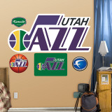 Utah Jazz Classic Logo Wall Decal