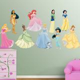 Disney Princess Collection Kalkomania ścienna