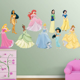 Disney Princess Collection - Duvar Çıkartması