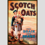 Scotch Oats Wall Decal