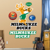 Milwaukee Bucks Classic Logo Wall Decal