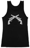 Juniors: Tank Top - Pistols Damestanktops