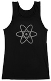Juniors: Tank Top - Atom out of the Periodic Table Womens Tank Tops
