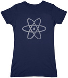 Juniors: Atom out of the Periodic Table T-Shirts