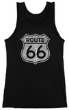 Juniors: Tank Top - Route 66 T-Shirt
