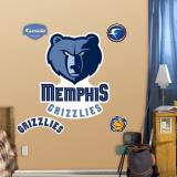 Memphis Grizzlies Logo Wall Decal