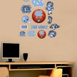 North Carolina - Fathead Junior Logosheet   Wall Decal