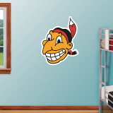Cleveland Indians Throwback Logo Wall Decal