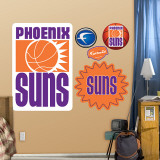 Phoenix Suns Classic Logo Wall Decal