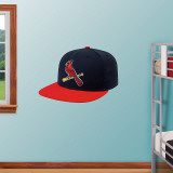 St. Louis Cardinals Alt. New Era Cap Wall Decal