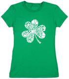 Juniors: Kiss Me I'm Irish T-Shirts