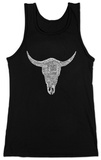 Juniors: Tank Top -  Top Country Songs Cowskull T-Shirt