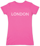 Juniors: London Neighborhoods T-shirts