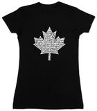 Juniors: Canada National Anthem T-Shirt