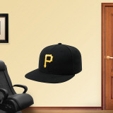 Pittsburgh Pirates New Era Cap Wall Decal
