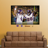 Favre-Peterson Celebration Mural Wall Decal