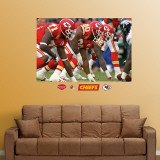 Chiefs Line Mural Wall Decal