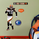 Joshua Cribbs - Fathead Junior Wall Decal