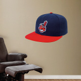 Cleveland Indians New Era Cap Wall Decal