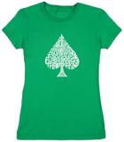 Juniors: Spade 'Poker Hands' T-Shirt