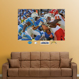 Chargers-Chiefs Line of Scrimmage Mural Wall Decal