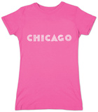 Juniors: Chicago Neighborhoods T-Shirt