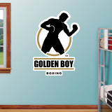 Golden Boy Logo Wall Decal