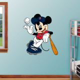 Mickey Mouse Red Sox   Wall Decal