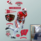 Lee Evans Wisconsin Wall Decal