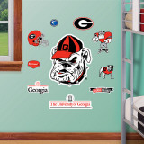Georgia - Fathead Junior Logosheet Wall Decal