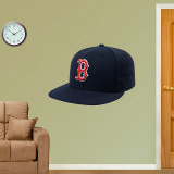 Boston Red Sox New Era Cap Wall Decal
