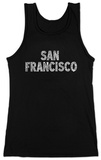 Juniors: Tank Top - San Francisco Neighborhoods T-shirts