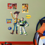 Woody &amp; Buzz Lightyear Wall Decal