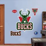 Milwaukee Bucks Logo Wall Decal