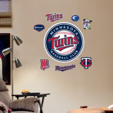 Twins 2010 Season Logo - Fathead Junior Wall Decal